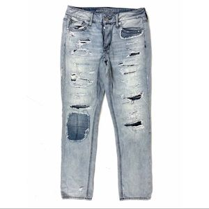 American Eagle Outfitters Jeans Tomgirl Distressed
